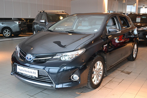 Toyota Auris 1,8 Hybrid E-CVT Executive Navi. DAB. Ryggekamera. Skin  2013, 39500 km, kr 235000,-