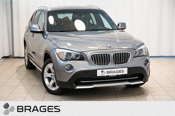 BMW X1 xDrive18d (136hk) Automat Navigasjon, Ryggekamera, Skinn  2011, 88300 km, kr 269000,-