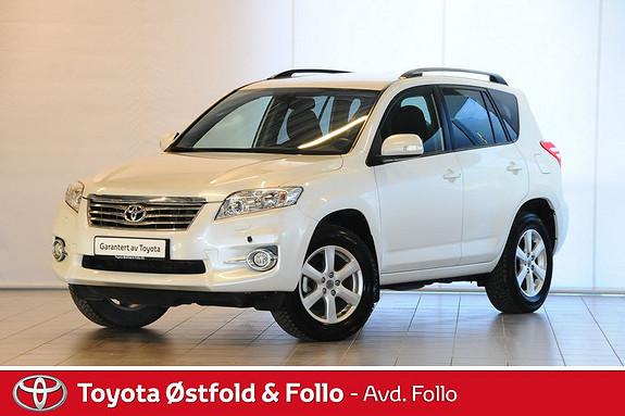 Toyota RAV4 2,0 VVT-i Vanguard Executive Multidrive S Velholdt bens  2010, 83675 km, kr 239000,-