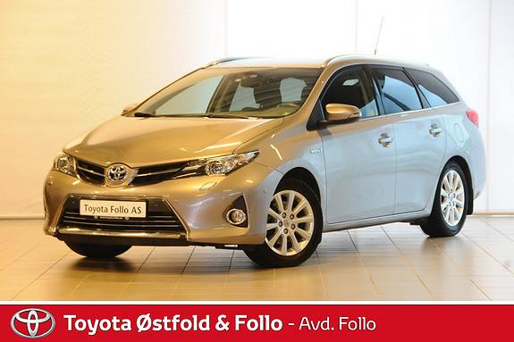 Toyota Auris 1,8 Hybrid E-CVT Executive Velholdt  2013, 44766 km, kr 228000,-