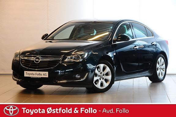 Opel Insignia 2,0 CDTI 140hk Premium meget lav KM, krok, varmer  2015, 2022 km, kr 295000,-
