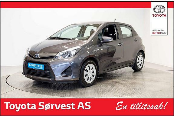 Toyota Yaris 1,5 Hybrid Active Hybrid, ryggekamera.vinterkdekk!  2014, 43876 km, kr 169000,-