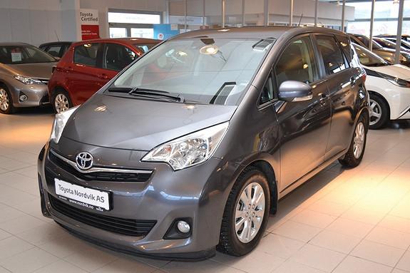 Toyota Verso-S 1,33 Elegant Multidrive S  2013, 25000 km, kr 179000,-