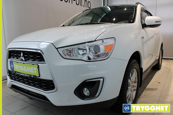 Mitsubishi ASX Instyle+ 1.8-116 ClearTec 4WD Rockford Fosgate, Ryggeka