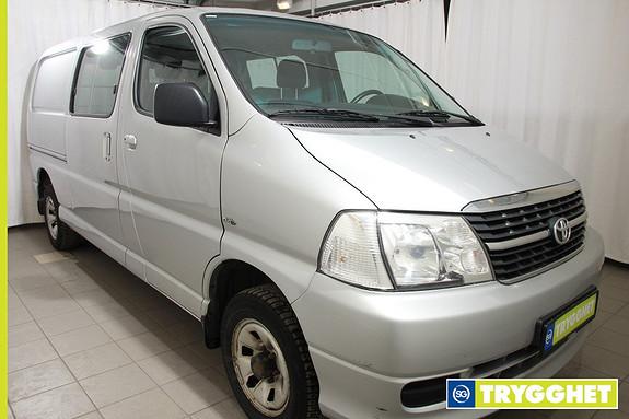 Toyota HiAce D-4D 5-d 117hk 4WD lang