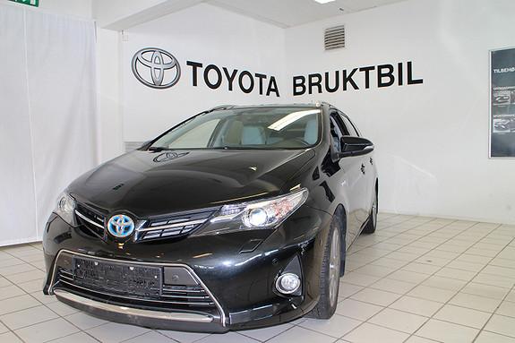 Toyota Auris TS 1,8 HSD Executive stv.  2014, 34000 km, kr 258000,-