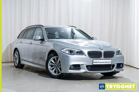 BMW 5-serie 520d 163hk Sportsautomat Navi Skinn Krok M-Sport