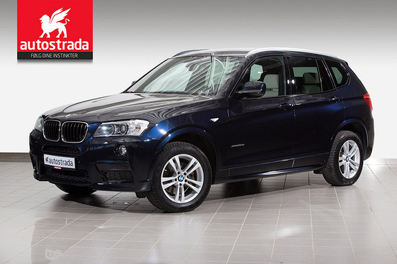 BMW X3 2,0dA M-sport