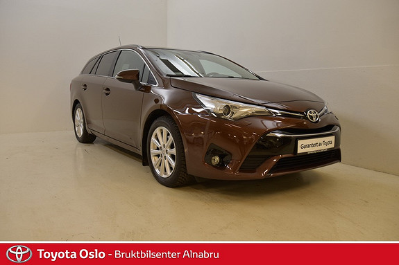 Toyota Avensis Touring Sports 1,8 Active Style M-drive 7S Automat, DAB  2015, 28 574 km, kr 309 900,-