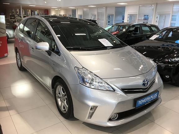 Toyota Prius+ Seven 1,8 VVT-i Hybrid Executive med glasstak.  2014, 34547 km, kr 299000,-