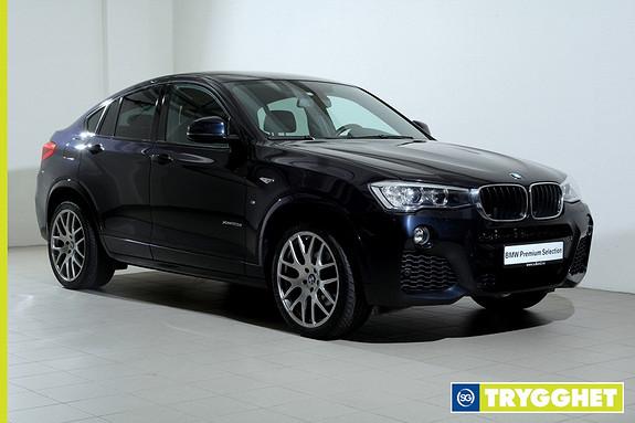 BMW X4 xDrive20d 163hk aut NAVI-Mpakke-HeadUp-DAB+-Xenon-Norsk