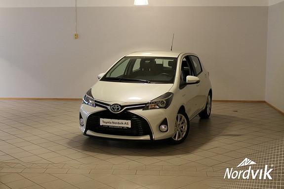 Toyota Yaris 1,5 Hybrid Active S e-CVT  2016, 1745 km, kr 209000,-