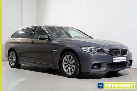 BMW 5-serie 520xdaT M-Sport-Skinn-Navi-R.kamera-krok-DAB-Oppv.ratt