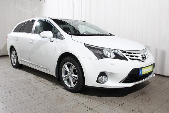 Toyota Avensis 1,8 147hk Executive Multidrive S Navi-Skinn-Keyles-solt