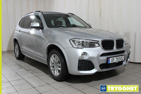 BMW X3 xDrive20d 190hk 100 Edition aut Msport,dab+,h.feste++++