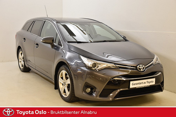 Toyota Avensis Touring Sports 1,8 Active Style M-drive 7S Hengerfeste,  2015, 44 483 km, kr 299 900,-