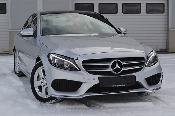 Mercedes-Benz C-Klasse C220 CDI Avantgarde aut AMG, LUFTFJÆRING, RYGGEKAMERA  2014, 20760 km, kr 399900,-