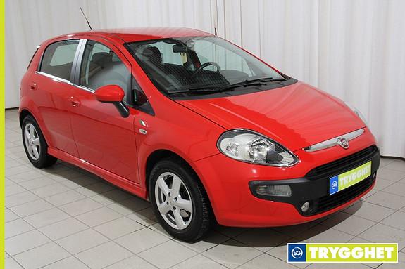 Fiat Punto Evo 1,3 Multijet 85hk Dynamic Active Kjapp rød småbil