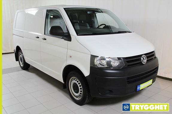Volkswagen Transporter 2,0 TDI 140hk u/vindu Skyvedør H+V/Hengerfeste/3 seter