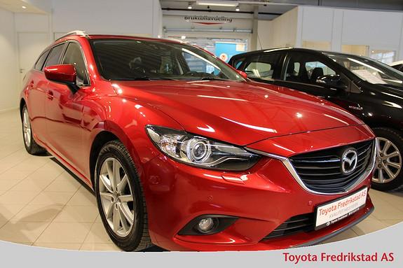 Mazda 6 2,0 165hk Vision aut. , navigasjon, bluetooth, 1 eier,  2013, 74600 km, kr 249000,-