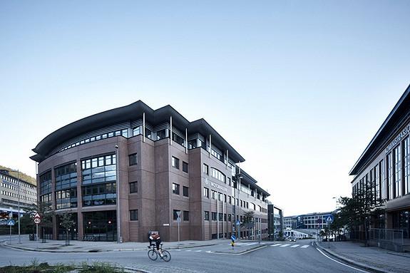 Motorhallen, sentral lokasjon i Solheimsviken