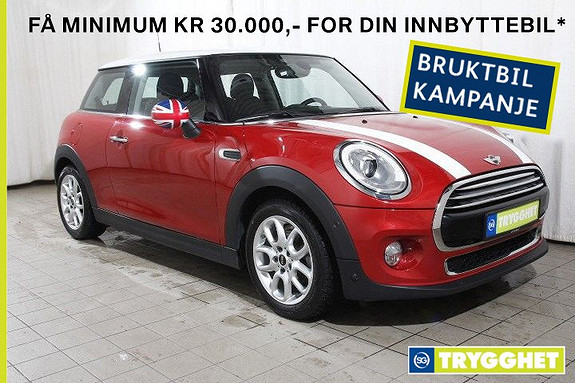 MINI Cooper Automat 136hk-Norsk-Nav-Chili--LED-DAB-P.assist-Blåtann