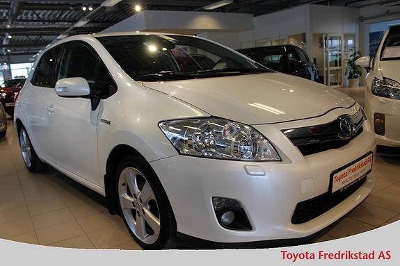 Toyota Auris 1,8 Hybrid Executive HSD , ryggekamera, bluetooth, kons  2011, 102000 km, kr 139000,-