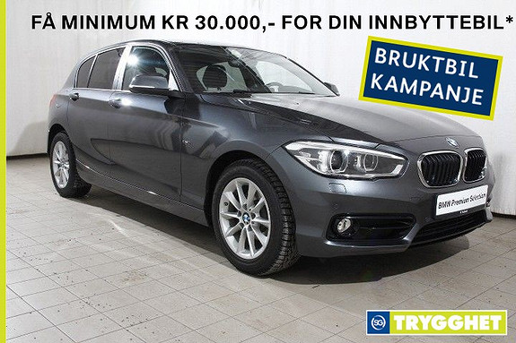 BMW 1-serie 116d Oppv.ratt-fj.lysaut-DAB-Bluetooth-Sports-PDC-etc