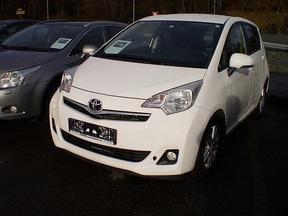 Toyota Verso-S Elegant  2012, 75000 km, kr 157563,-