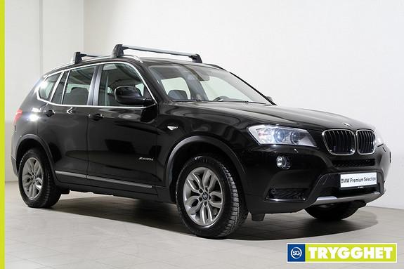 BMW X3 xDrive20d Aut. xLine-Navi-HUD-Kamera-DAB+-Lyspakke