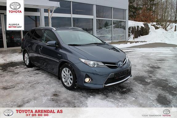 Toyota Auris 1,8 Hybrid E-CVT Active Go navi Hyrid Garanti 28.04.19  2015, 49600 km, kr 249000,-