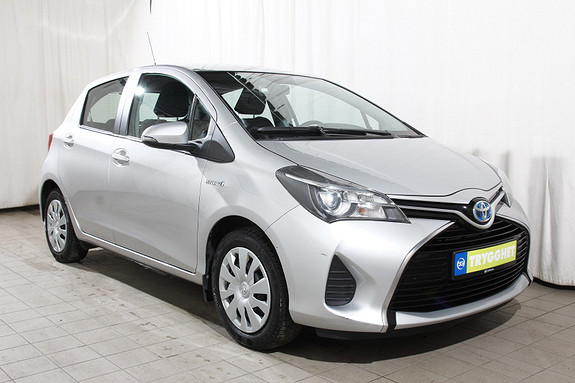 Toyota Yaris 1,5 Hybrid Active e-CVT Ryggekam-DAB-Bluetooth-Klima