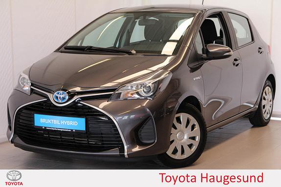 Toyota Yaris 1,5 Hybrid Active e-CVT Navi, kamera, Bluetooth, DAB+  2015, 45624 km, kr 180000,-