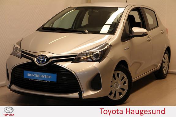 Toyota Yaris 1,5 Hybrid Active Navi, kamera, Bluetooth, DAB+  2015, 45595 km, kr 180000,-