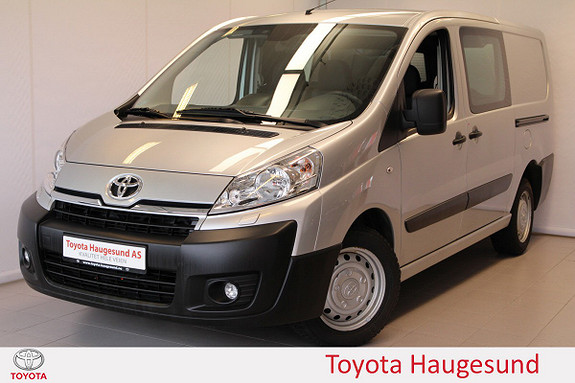 Toyota Proace 2,0 128hk L2H1 (m/bakluke) Bluetooth, setevarme, Tectyl  2013, 45055 km, kr 169000,-