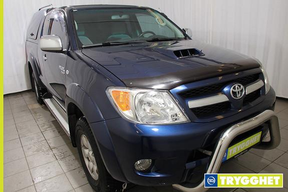 Toyota HiLux D-4D 120hk X-Cab 4wd SR5 Nyservet, Topp