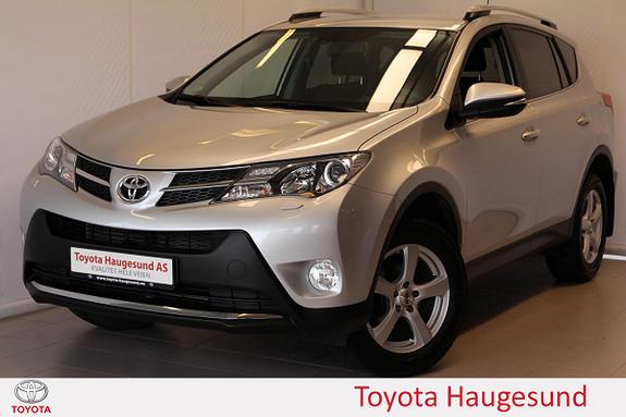 Toyota RAV4 2,2 D-4D 4WD Active Kamera, el luke, BT, DAB+, Tectyl  2013, 25946 km, kr 319000,-