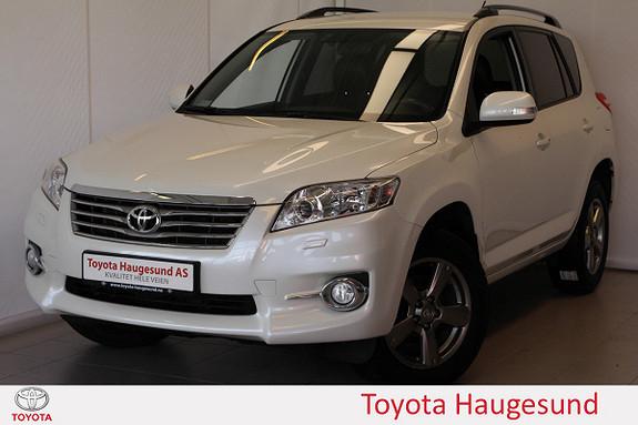 Toyota RAV4 2,2 D-4D Vanguard Executive Navi, kamera, BT, tectylert  2012, 55502 km, kr 269000,-