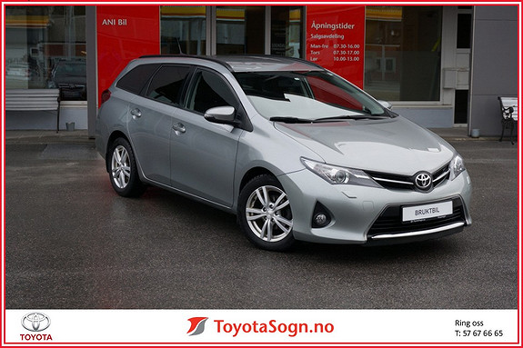 Toyota Auris Touring Sports 1,4 D-4D Style  2013, 51000 km, kr 175000,-