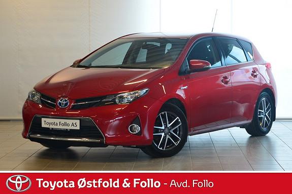 Toyota Auris 1,8 Hybrid E-CVT Active+  2015, 43875 km, kr 219000,-