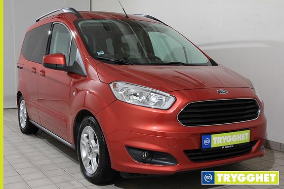 Ford Tourneo Courier 1,0 ECOboost 100hk Titanium DAB!!! HENGERFESTE!!!RYGGEK