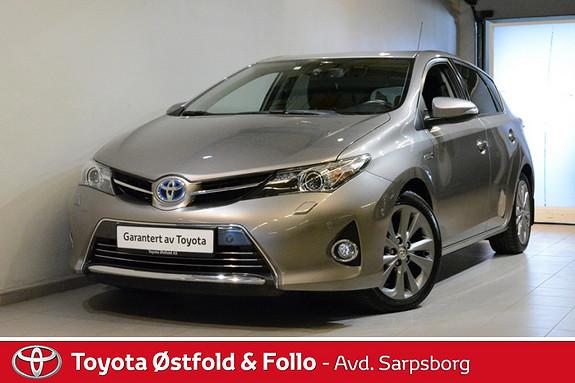 Toyota Auris 1,8 Hybrid E-CVT Executive , DAB+/NAVI/DELSKINN M.M.,  2013, 43200 km, kr 208000,-