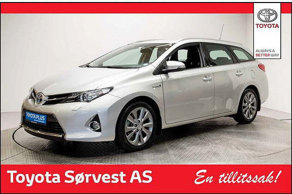Toyota Auris Touring Sports 1,8 Hybrid Active+  2014, 34 847 km, kr 219 000,-