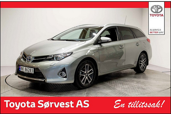 Toyota Auris Touring Sports 1,8 Hybrid Active+  2015, 23 286 km, kr 249 000,-