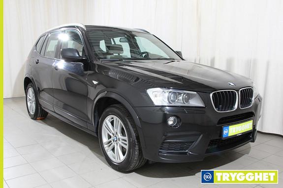 BMW X3 xDrive20d 184hk aut Navi, skinn, M Sport
