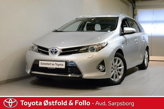 Toyota Auris Touring Sports 1,8 Hybrid Active  2014, 26100 km, kr 225000,-