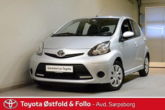 Toyota Aygo 1,0 + 5-d  2014, 28500 km, kr 108000,-