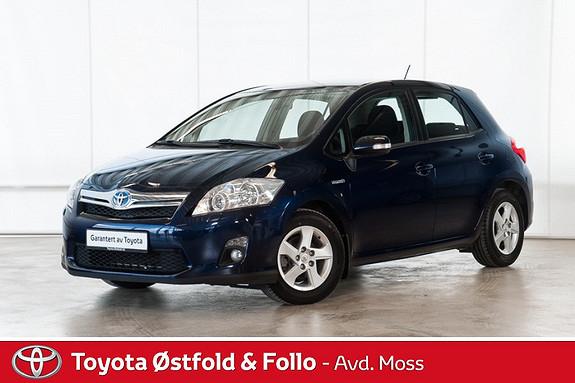 Toyota Auris 1,8 Hybrid Advance HSD  2011, 64700 km, kr 155000,-