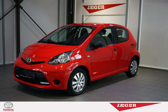 Toyota Aygo 1,0 5-d  2014, 23000 km, kr 109000,-