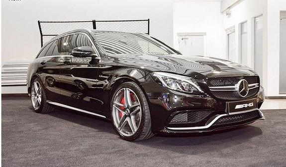 Mercedes-Benz C-Klasse C63T AMG-S 510hk/Distronic Pluss/Perfomance/Burmeister  2016, 29000 km, kr 1049000,-